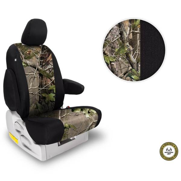Northwest Two-Tone Realtree AP Green Seat Covers