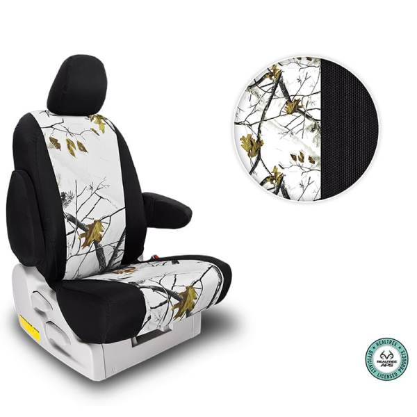 Northwest Two-Tone Realtree AP Snow Seat Covers