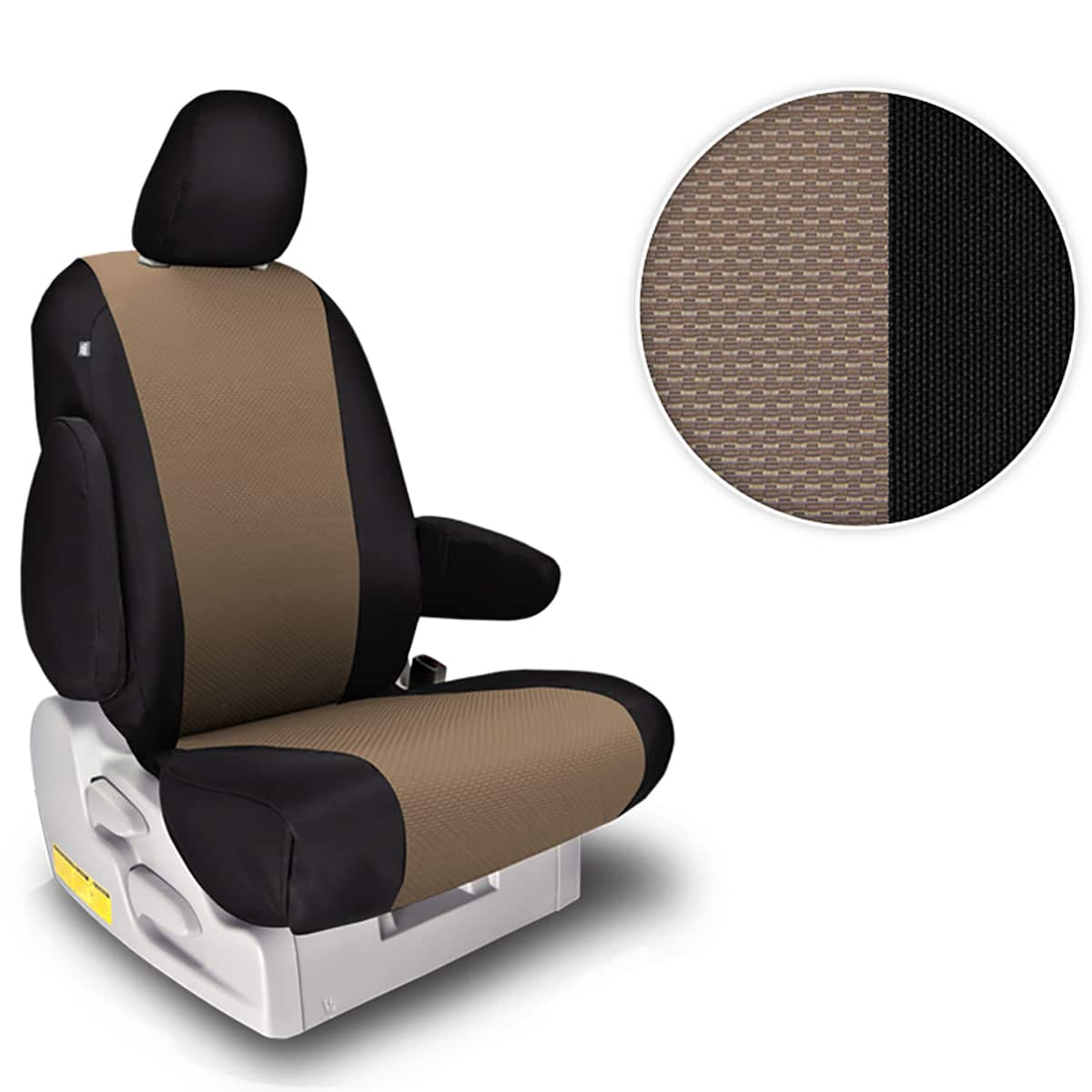 Northwest OE Sport Tan & Black Seat Covers