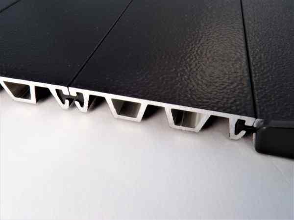 High Strength Locking Alum Panels for Premium Security