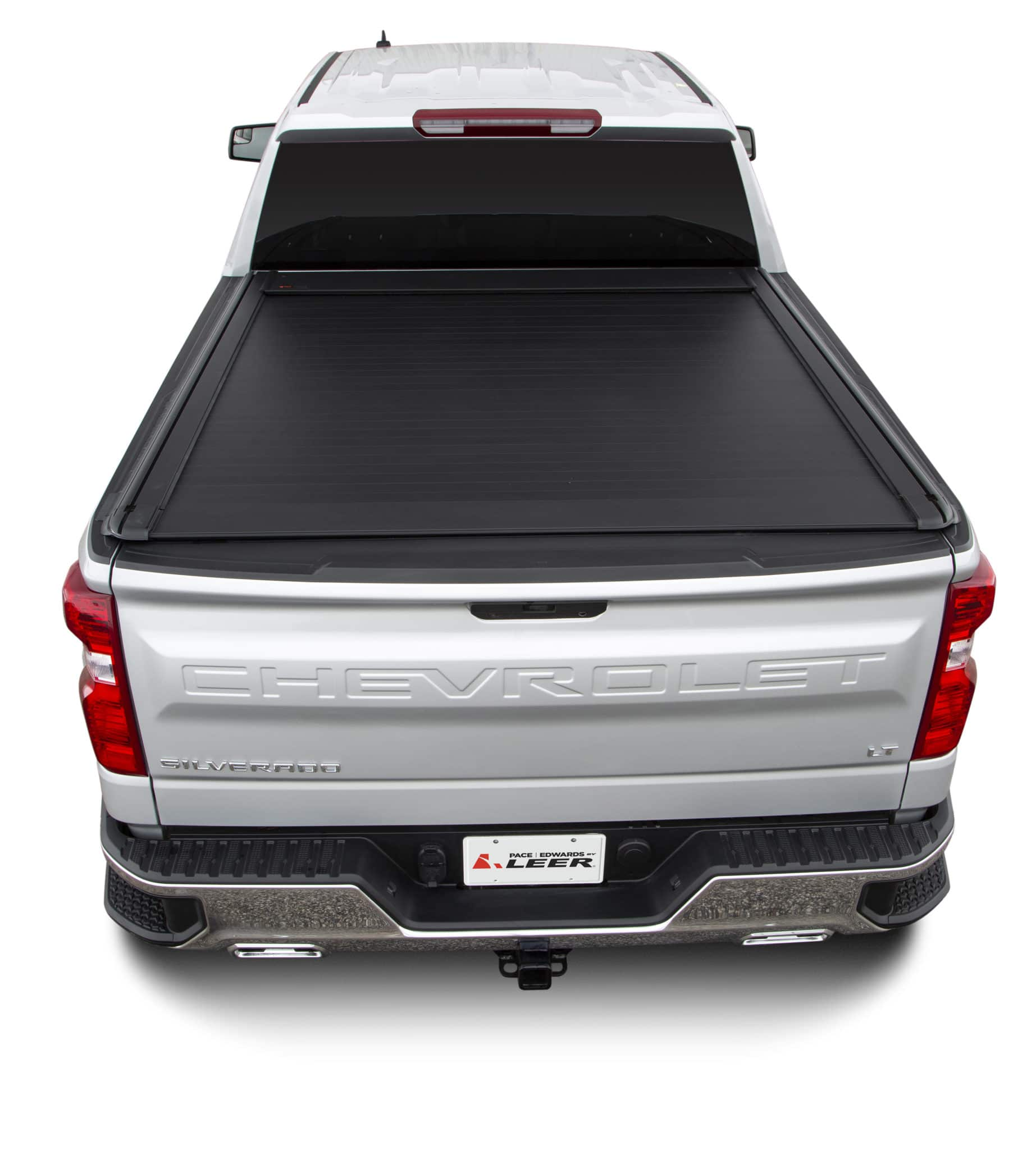 Pace Edwards Ultragroove Electric Tonneau Cover - with Slotted Rails for Racks