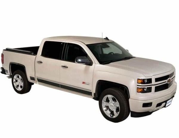 Black Platinum Rocker Panels for Trucks