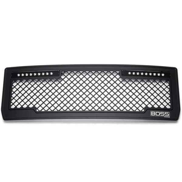 Putco Boss LED Grilles-270512bl