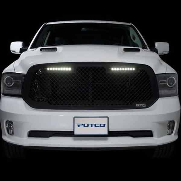 Putco Boss LED Grilles Dodge Ram