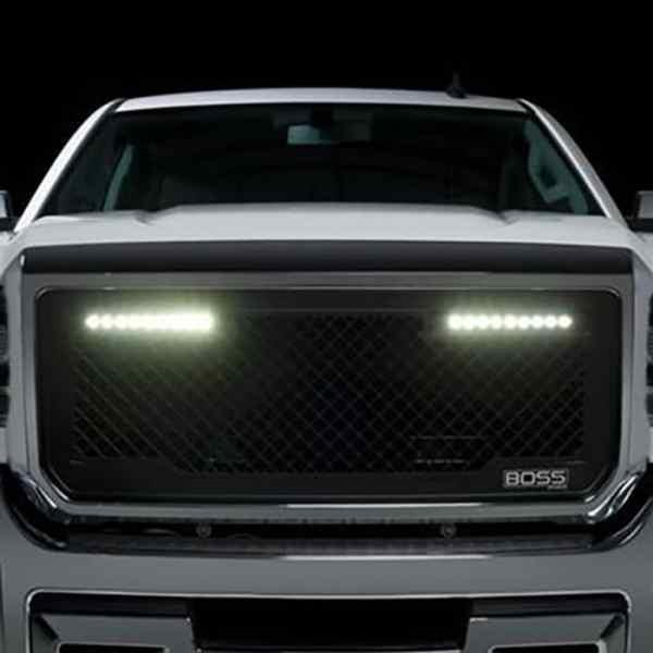 Putco Boss LED Grilles GM Truck
