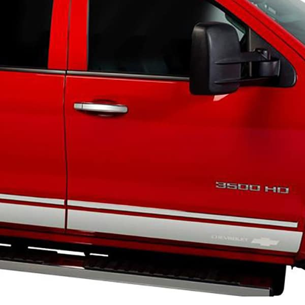 Putco Chevy Bow-Tie T-304 Stainless Steel Rocker Panels