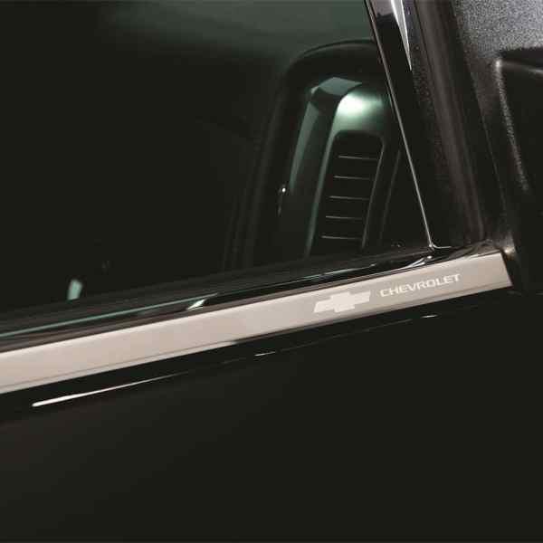 Putco Chevy Stainless Steel Window Trim Accents