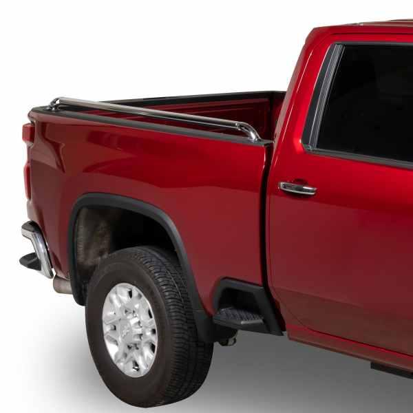 Putco Chrome Locker Side Rails on Chevy