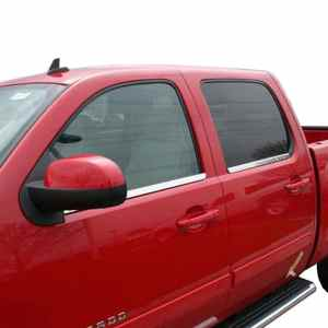 Putco Chrome Window Trim Accents Chevy