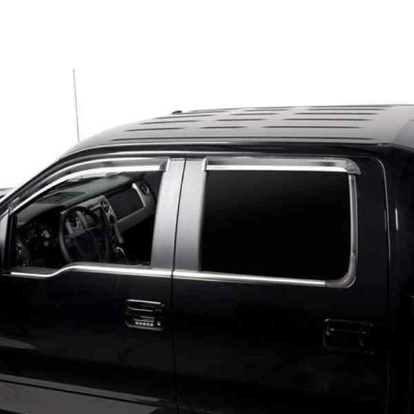Putco Chrome Window Trim Accents Ford