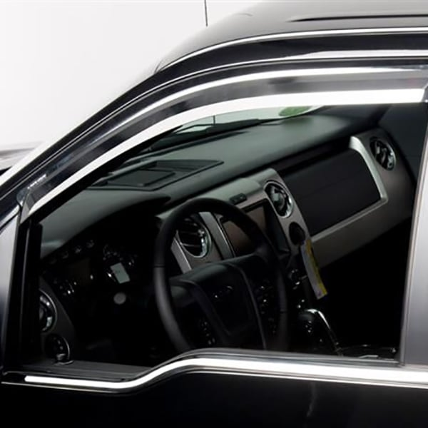 Putco Chrome Window Trim Accents Front Door