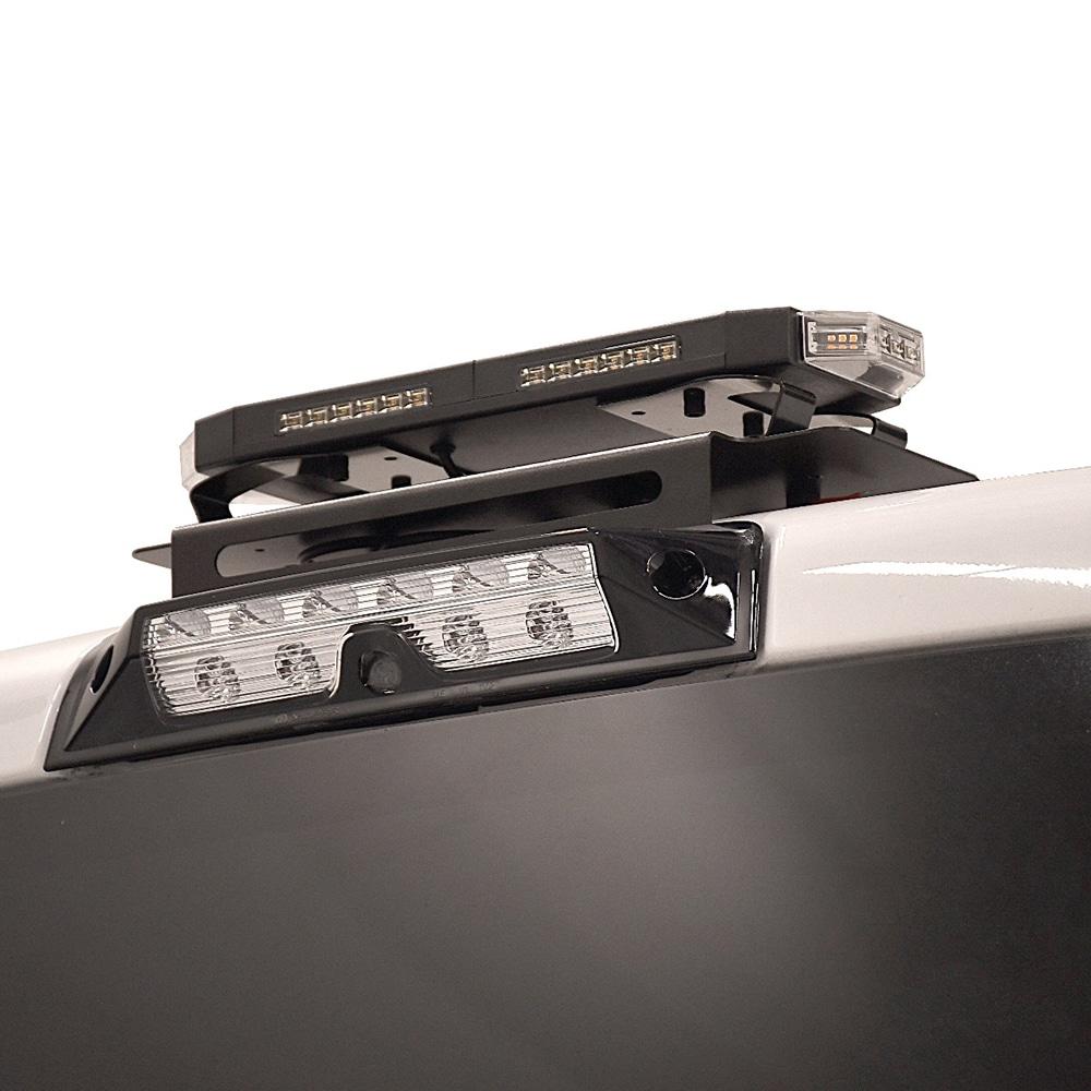 Putco Custom Hornet Roof Mounting Brackets-On-Truck