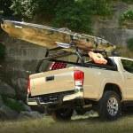 Putco Elevated Rack Cross Bars For HD Venture TEC Rack On Truck