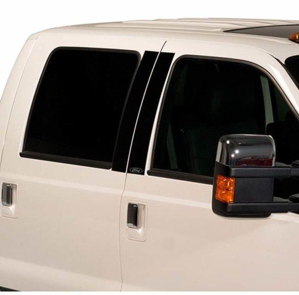 Putco Ford Licensed Platinum Black Pillar Posts