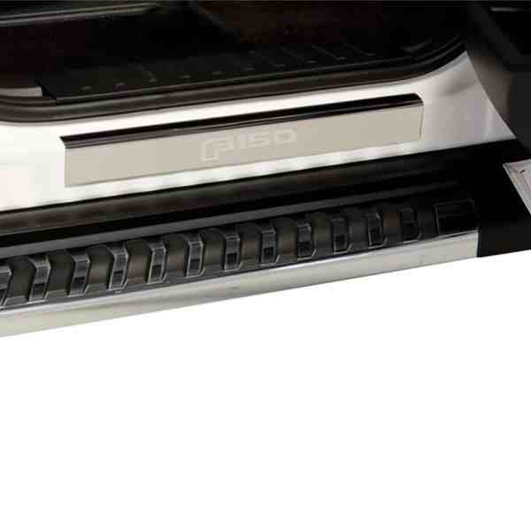 Putco Ford Licensed Stainless Steel Door Sill Plates