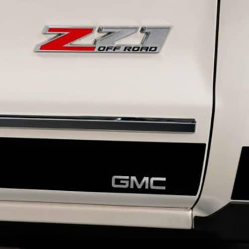 Putco GM Licensed Black Platinum Rocker Panels GMC