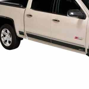 Putco GM Licensed Black Platinum Rocker Panels