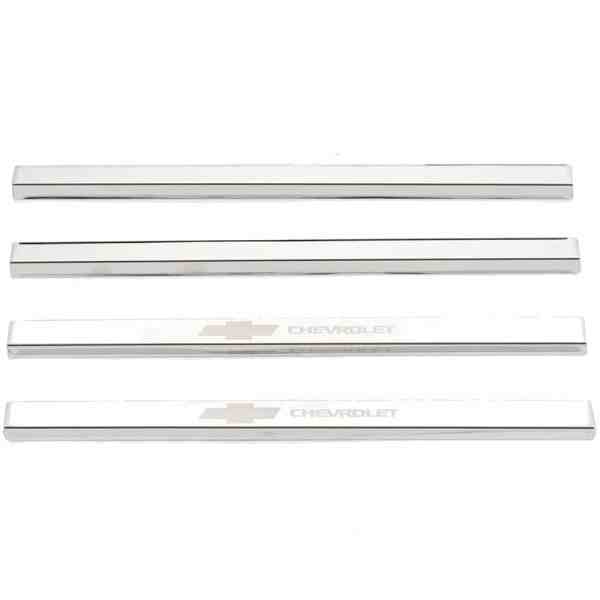 Putco GM Licensed Stainless Steel Door Sill Plates-95171gm-1