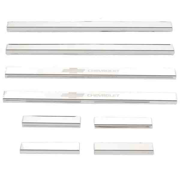 Putco GM Licensed Stainless Steel Door Sill Plates-95172gm-1