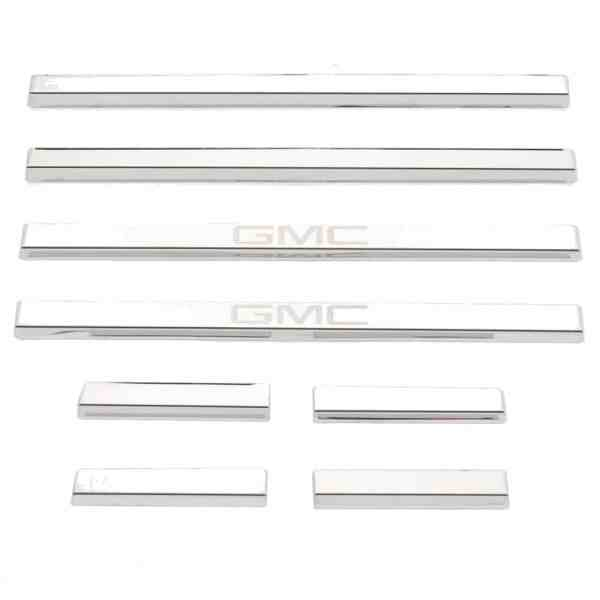 Putco GM Licensed Stainless Steel Door Sill Plates-95172gm-2