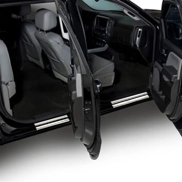 Putco GM Licensed Stainless Steel Door Sill Plates Crew Cab