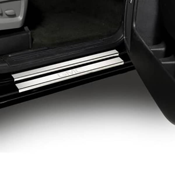 Putco GM Licensed Stainless Steel Door Sill Plates