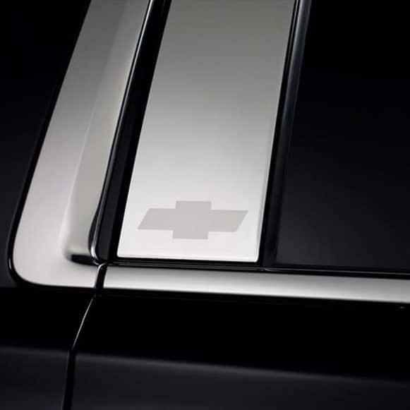 Putco GM Licensed Stainless Steel Pillar Posts