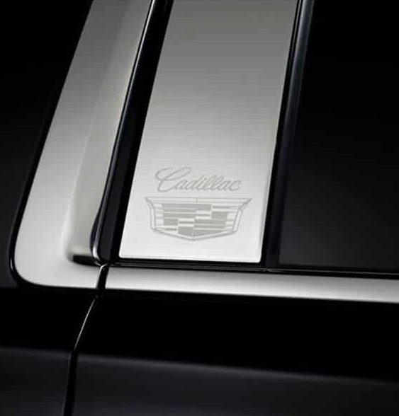 Putco Cadillac Stainless Steel Pillar Posts