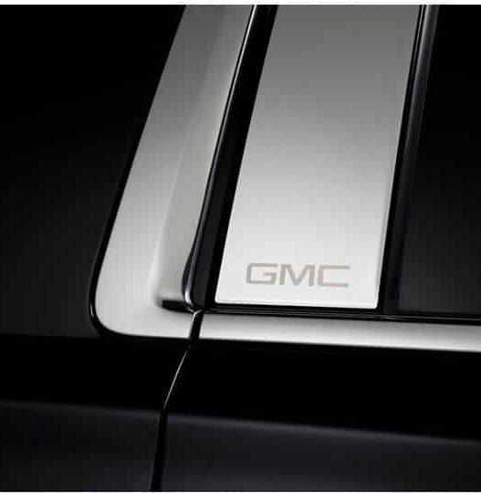 Putco GMC Licensed Stainless Steel Pillar Posts