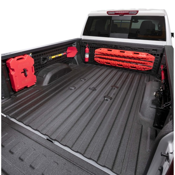 Putco Molle Panels in Truck Bed