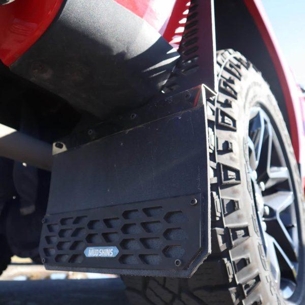 Putco Black Hex Mud Skins Closeup