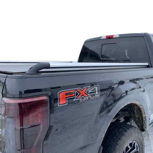 Putco Nlyon Locker Truck Bed Rails Installed