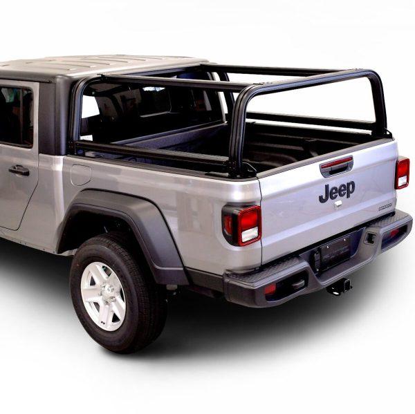 Putco Venture Tec Overlander Truck Rack on Jeep Gladiator