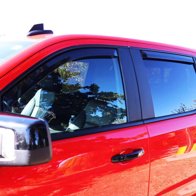Putco Window Deflectors Installed