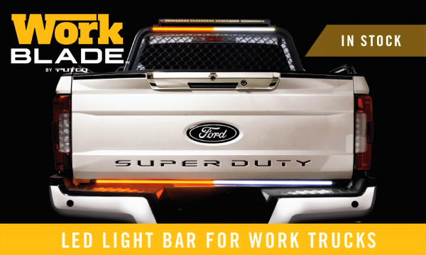Putco LED Work Blade Lights - Amber & White