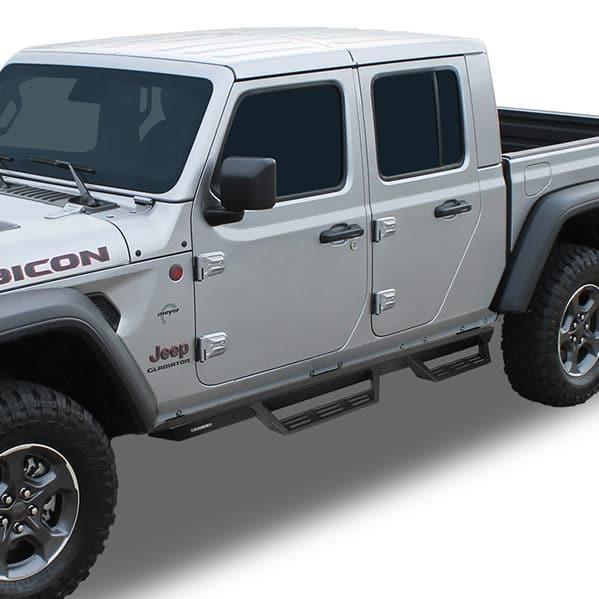 Raptor Magnum Gen 2 RT Steps on Jeep Gladiator GTS40JP