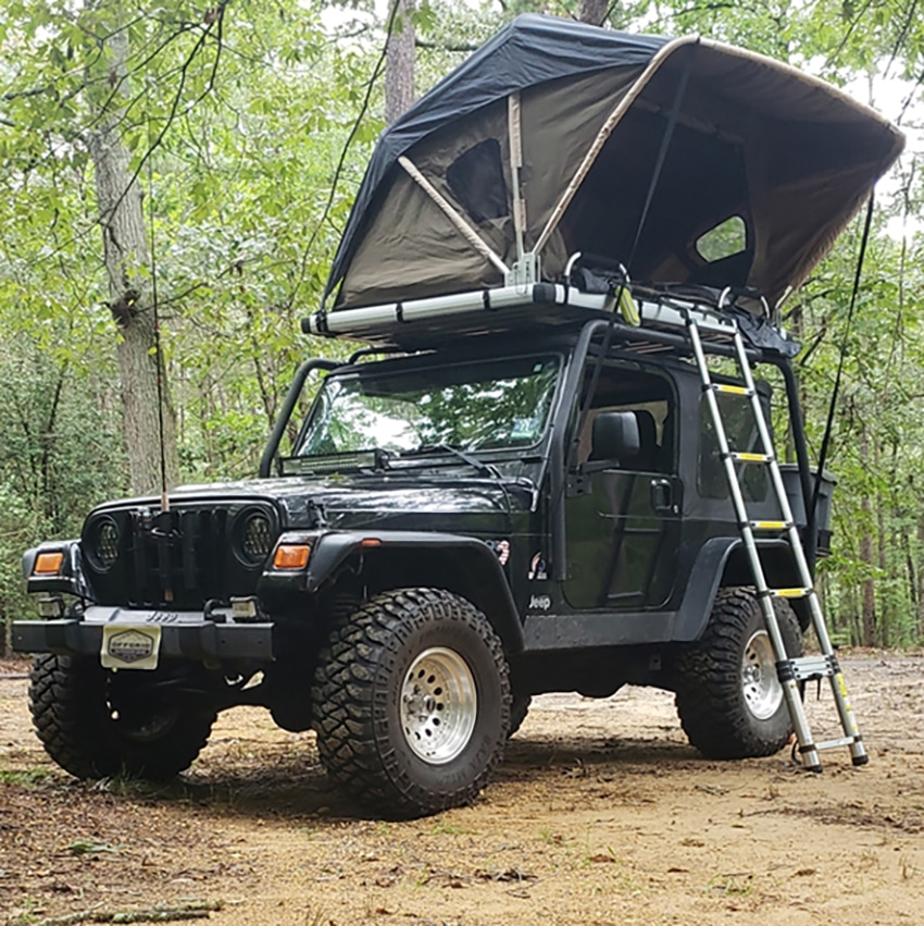 Raptor Voyager Tent on Roof Top