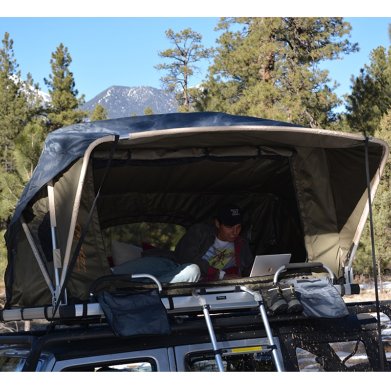 Offgrid Roofttop Tent Installed