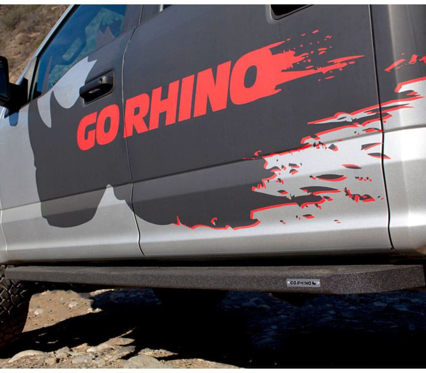 Go Rhino RB10 Boards Low View