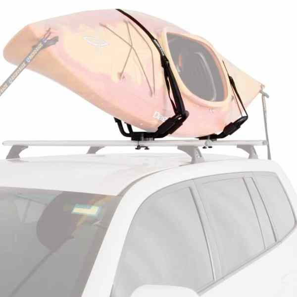 Rhino Rack J Style Fixed Kayak Carrier Loaded