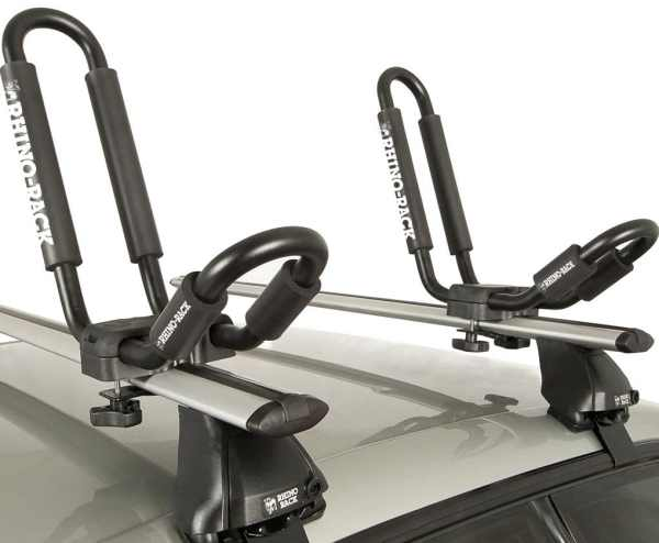 Rhino Rack J Style Fixed Kayak Carrier Closeup
