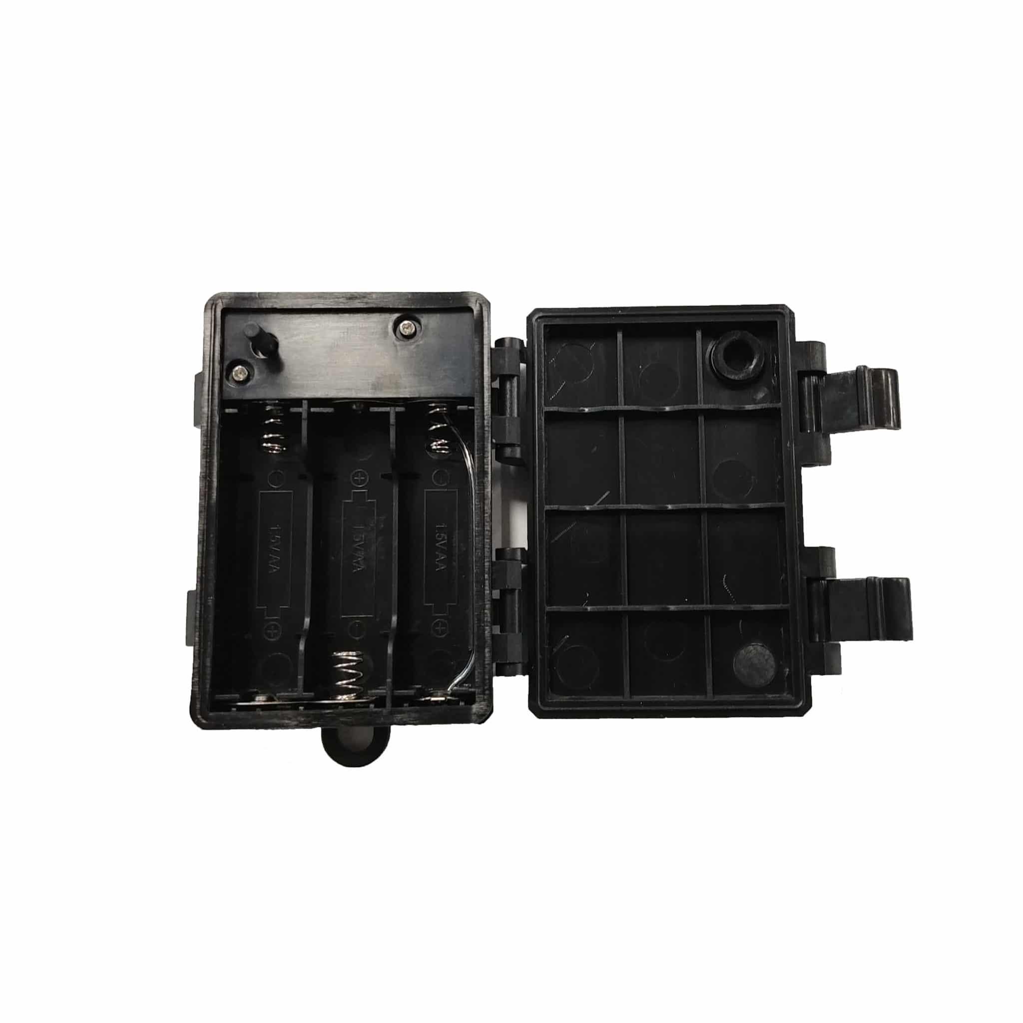 RHR LED Light Battery Box - Open