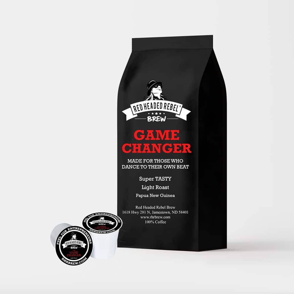 RHR Game Changer Coffee - Single Serve Cups - 10 Pack