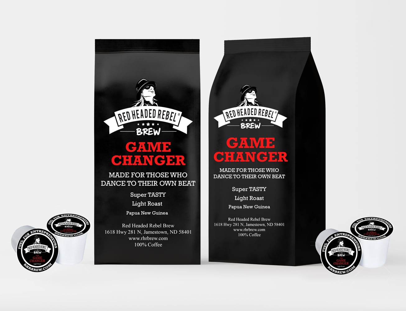 RHR Game Changer Coffee - Single Serve Cups - 20 Pack