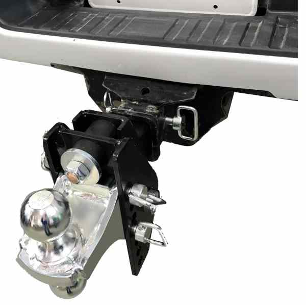 RHR 12K Shock Absorbing Cushion Hitch Combo Ball Mount