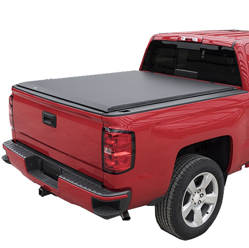Red Headed Rebel Xl Roll Up Truck Bed