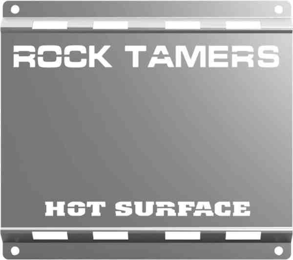 Rock Tamers Heat Shield Front