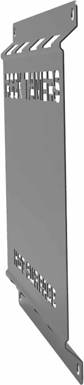 Rock Tamers Heat Shield Side Angle