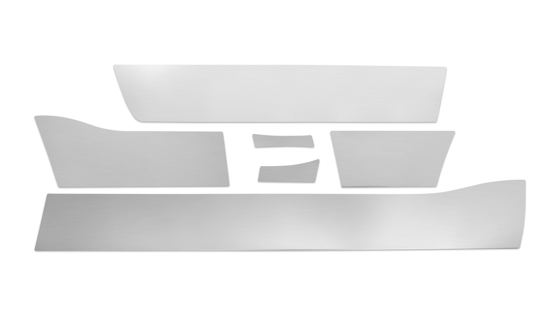 Stainless Rockers Kit - Width & Piece Cut Vary by Application