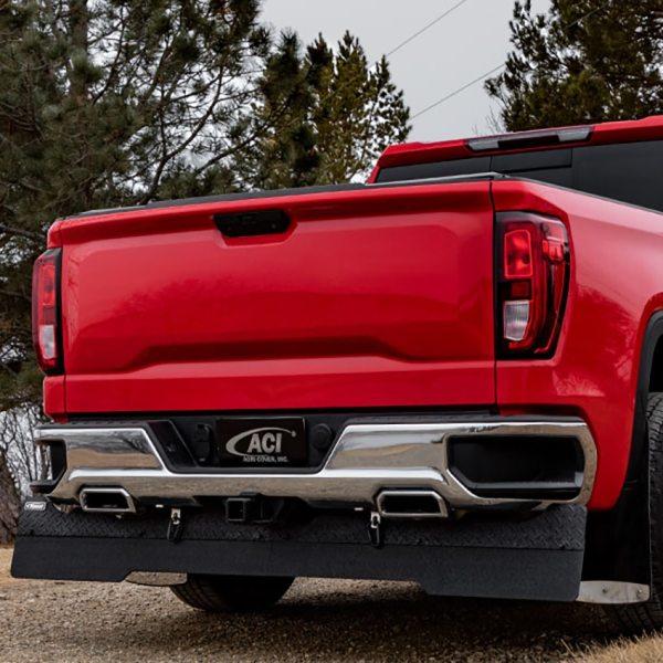 RockStar Full Width Towing Mud Flaps Installed on Chevy Silverado